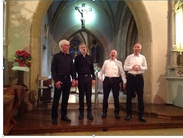 Le quatuor suisse concert de noel 2017